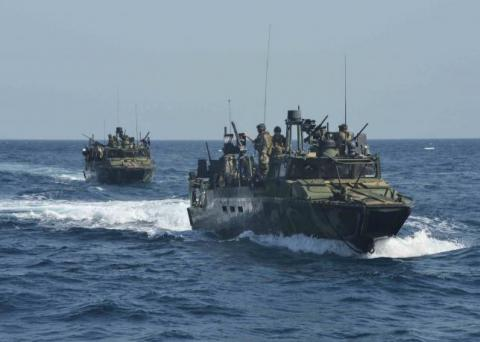 Iran's Revolutionary Guards question U.S. sailors, dismiss talk of prompt release