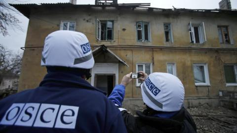 Klimkin, OSCE Secretary General discuss situation in Donbas