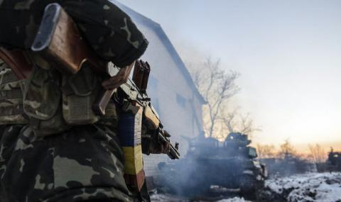 Ukrainian army reports 47 attacks on its positions in Donbas