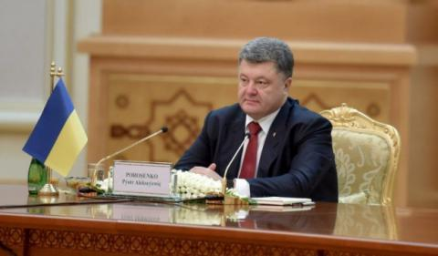 Poroshenko announces suits against Russia over Crimea