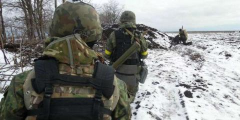 Russia proxies use grenade launchers, anti-aircraft guns against ATO forces