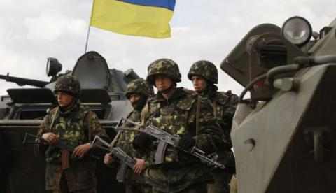 Ukrainian army positions come under fire 61 militia in past 24 hours