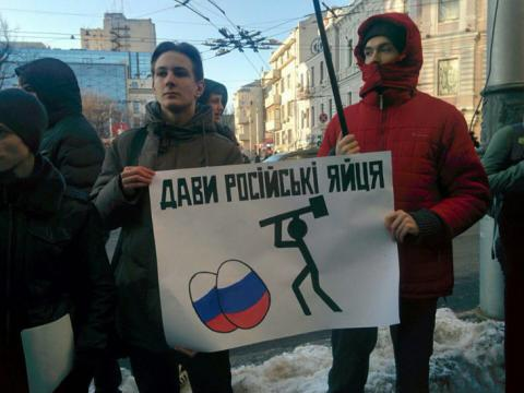 Kharkiv activists call for boycott of Russian businesses