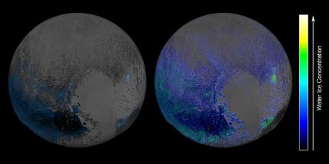 Is there water on Pluto?