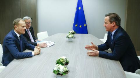 Cameron, EU leaders still have 'lot to do' to reach deal
