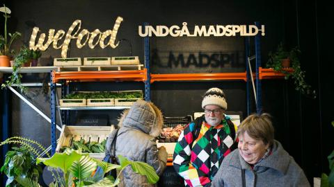 The world's first supermarket selling only expired food has opened in Denmark
