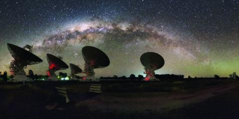 Location of mystery space signal discovered along with universe's missing matter