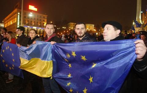 Half of the Ukrainians wants the access to EU