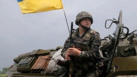 8 soldiers wounded in eastern Ukraine over past day