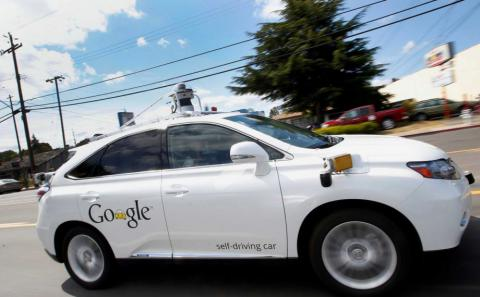 Google's self-driving car probably caused its first accident
