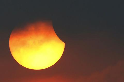 Today's total solar eclipse (PHOTO)