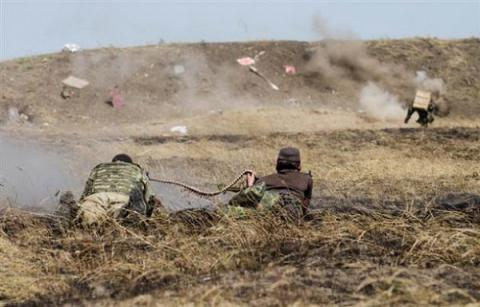 Over 40 strikes against Ukrainian positions in Donbas in past 24 hours
