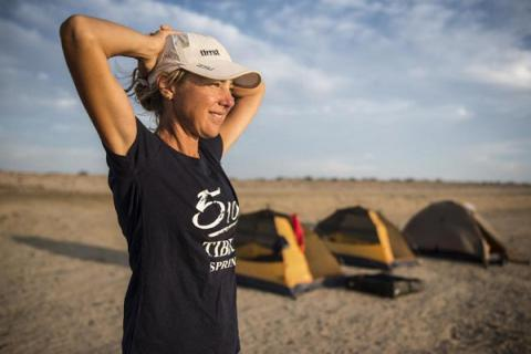 Runner aims to cover 1,000 miles in 7 deserts in 7 weeks