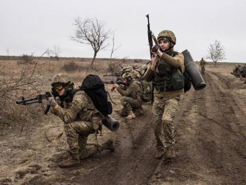 Ukrainian positions in Donbas were under 72 attacks in past 24 hours