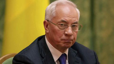Kyiv's Appeal Court approved arrest of Azarov's pension account