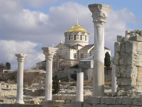 Crimea's Tauric Chersonesos become one of the most dangerous museums for visiting