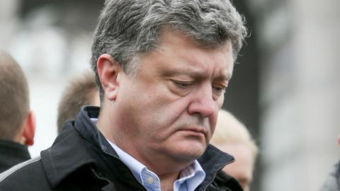 Ukrainian president asks OSCE to consider police mission in Donbas