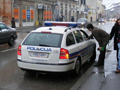 Croatian police probe massive theft from its headquarters