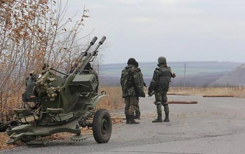 Two Ukrainian soldiers killed, 10 wounded in ATO zone in last 24 hours