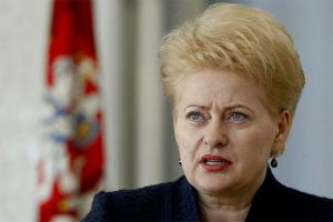 'Now is not the time to lose hope for Ukraine,' - Grybauskaitė