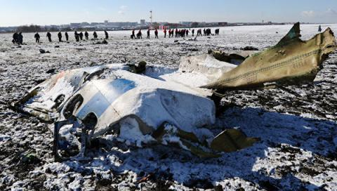 IAC deciphered voice data from Boeing crashed in Rostov-on-Don
