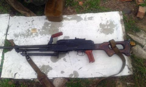 Ukrainian police found illegal weaponry arsenal in Donetsk region