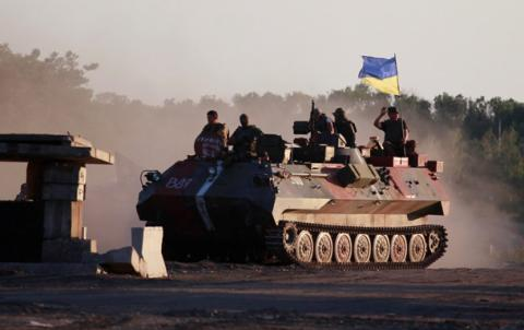 Over last day militants attacked Ukrainian positions 80 times -  ATO press center
