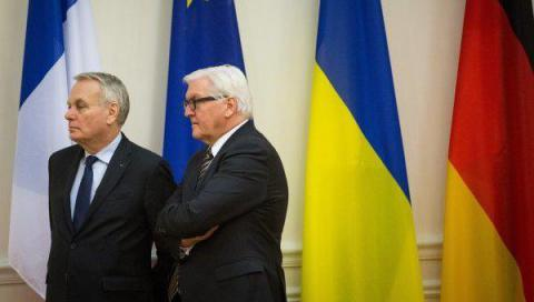 Ayrault-phobia and Steinmeier-mania of persecution of Ukraine
