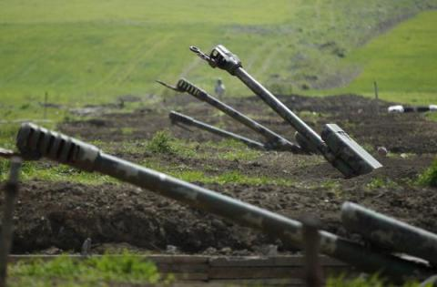 Nagorno-Karabakh says two soldiers killed by Azeri gunfire