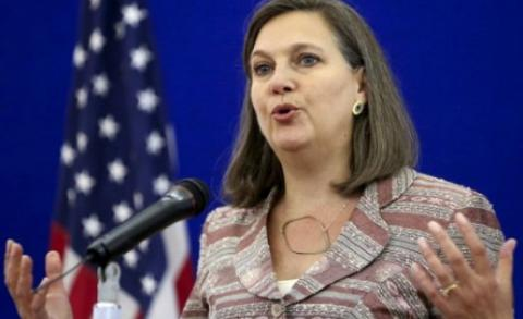 U.S. to step up efforts with 'Normandy Four' for implementing Minsk agreements - Nuland