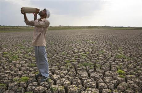 Crippling drought in central India leaves millions on brink