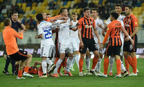 Ukraine's NOC call on Dynamo Kyiv, Shakhtar Donetsk players to stop conflict (VIDEO)