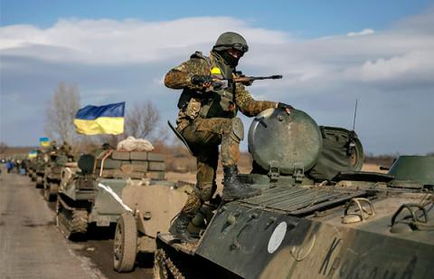 Russian proxies attacked Ukrainian positions 11 times over past day - ATO press center