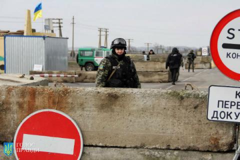 "Construction of ""Wall"" started at state border with Russia in Luhansk region"