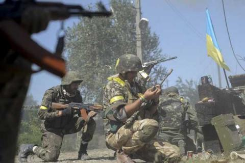 10 Ukrainian soldiers wounded in ATO zone in past 24 hours