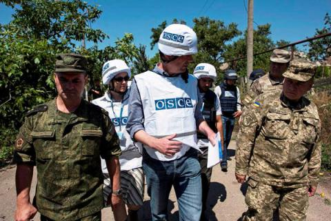 Russia didn't approve placing armed OSCE police mission in Donbas - Russia's Foreign Ministry