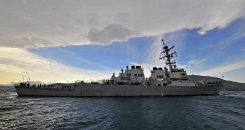 Guided missile destroyer USS Porter enters Black Sea (VIDEO)