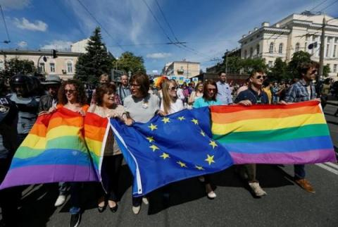 Savchenko comments on March of Equality in Kiev