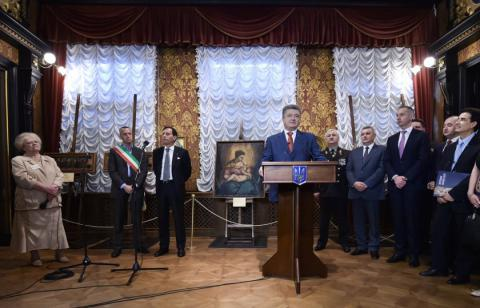 Rescued Verona paintings exhibition opened at Khanenko Museum in Kyiv