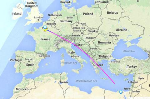 Wreckage of missing EgyptAir flight MS804 found
