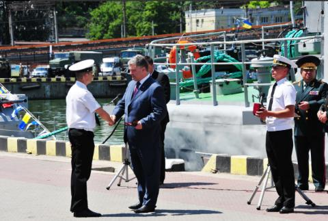 2016 could be declared Ukrainian Naval Forces Year - President