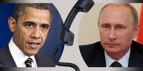 Moscow calling: Putin and Obama talked just before NATO summit