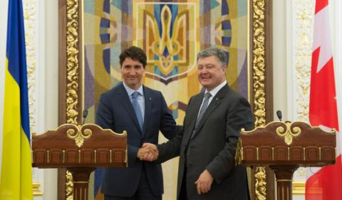 A free trade area will be established by Canada and Ukraine