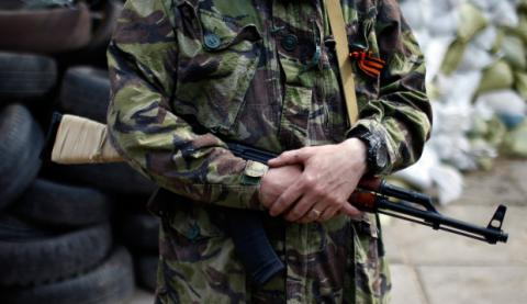Russian militant from occupied Donetsk surrendered toUkrainian forces