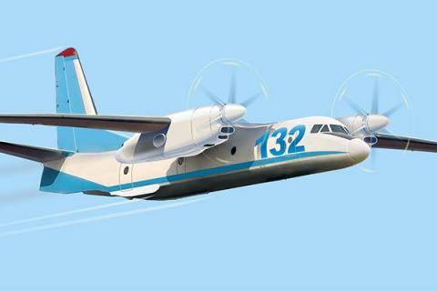 Ukraine's, Saudi Arabia's An-132 aircraft program: tests to start by the end of 2016