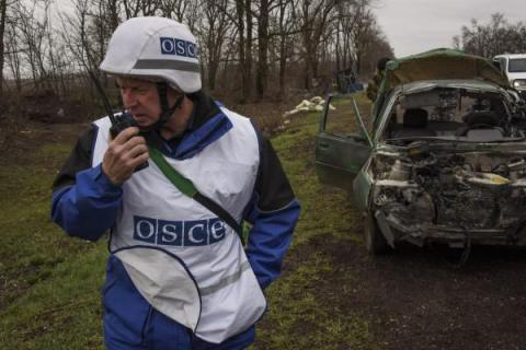 OSCE records  increase in the number of ceasefire violations in eastern Ukraine