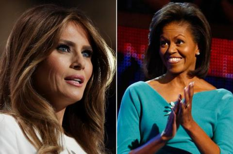Plagiarism of the day: Melania Trump steals some lines from Michelle Obama (VIDEO)