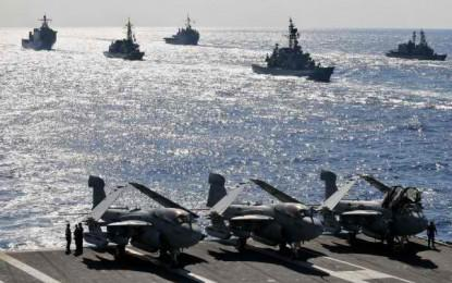 Japan seeks for record defense budget
