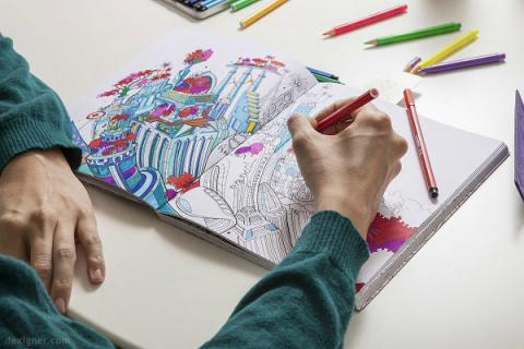 Coloring is not only fun hobby – it may help you stay healthy