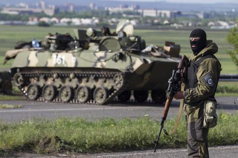 Russia-backed militants opened fire 38 times in Donbas over past day
